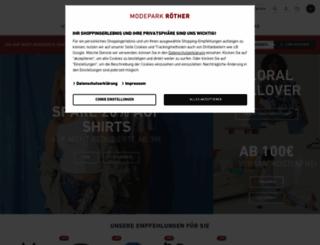 modepark.de screenshot
