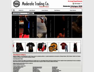 moderateco.com screenshot