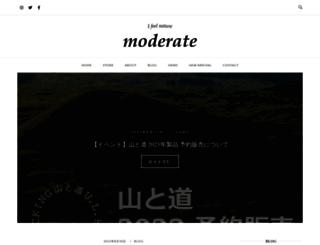 moderateweb.com screenshot