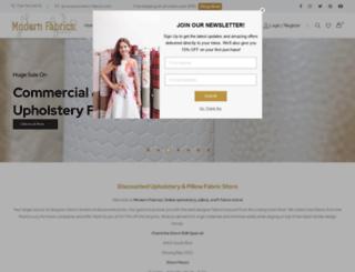 modern-fabrics.com screenshot