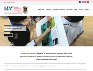 modern-montessori.com screenshot