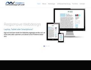 modern-webdesign24.de screenshot