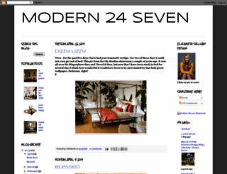 modern24seven.blogspot.com screenshot