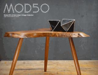 modern50.com screenshot