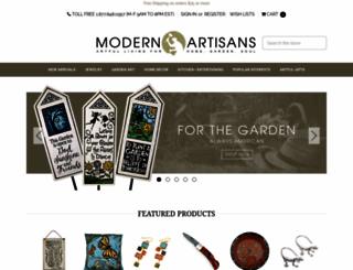 modernartisans.com screenshot