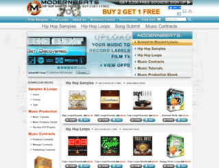modernbeats.com screenshot