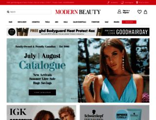 modernbeauty.ca screenshot