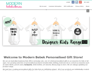 modernbebek.com.au screenshot