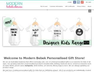modernbebek.com.au screenshot