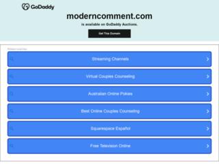 moderncomment.com screenshot