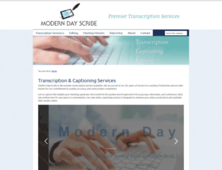 moderndayscribe.com screenshot