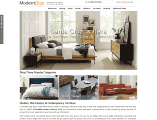 moderndigsfurniture.com screenshot