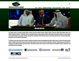 moderngroup-sa.com screenshot