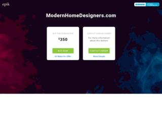 modernhomedesigners.com screenshot