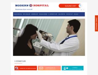 modernhospital.az screenshot