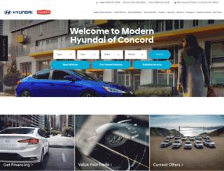 modernhyundai.com screenshot