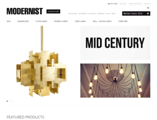 modernistlighting.com screenshot