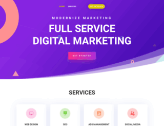 modernizemarketing.com screenshot