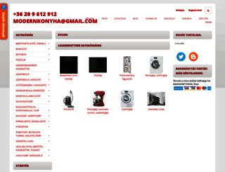 modernkonyha.shoprenter.hu screenshot
