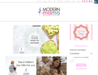 modernmama.com screenshot