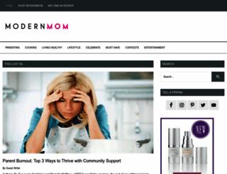 modernmom.com screenshot
