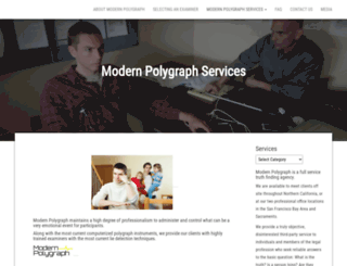 modernpolygraph.com screenshot