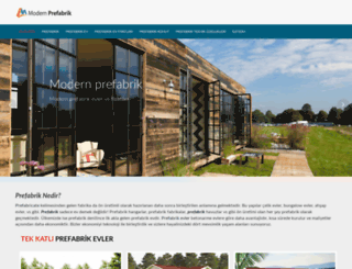 modernprefabrik.com screenshot