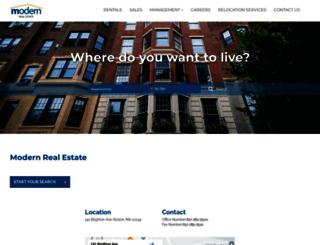 modernre.com screenshot