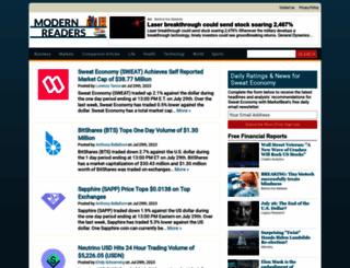 modernreaders.com screenshot