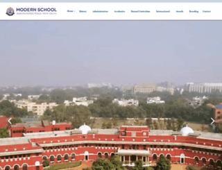 modernschool.net screenshot