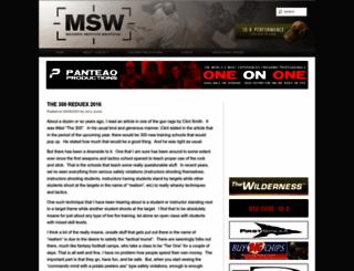 modernserviceweapons.com screenshot