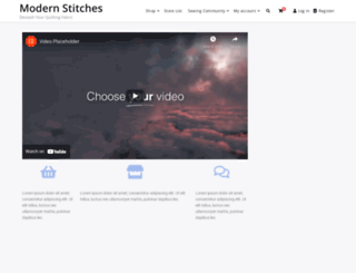 modernstitches.com screenshot