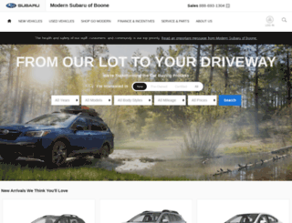 modernsubaru.com screenshot
