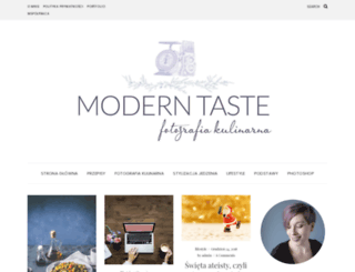 moderntasteblog.com screenshot