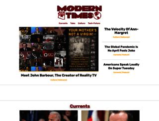 moderntimesmagazine.com screenshot