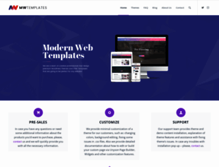 modernwebtemplates.com screenshot