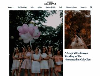 modernweddings.com screenshot