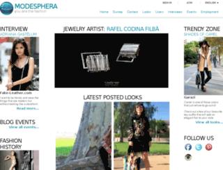 modesphera.com screenshot