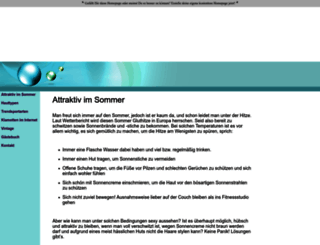 modetrends.homepage.eu screenshot
