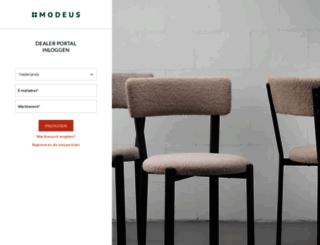 modeus.com screenshot
