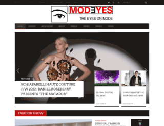 modeyes.org screenshot