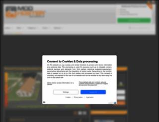 modhoster.com screenshot