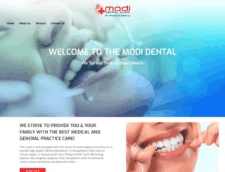 modidentalclinic.com screenshot