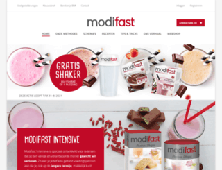 modifast.nl screenshot