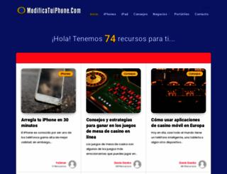 modificatuiphone.com screenshot