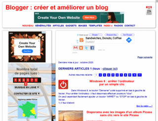 modifier-les-modeles-de-blogger.blogspot.be screenshot