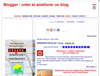 modifier-les-modeles-de-blogger.blogspot.fr screenshot