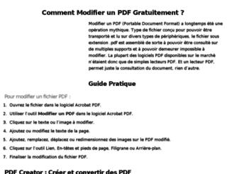 modifier-pdf.fr screenshot