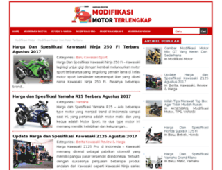 modifikasi-motor.net screenshot