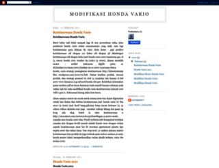 modifikasi-vario.blogspot.com screenshot